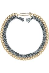 Aurelie Bidermann Santa Fe 18karat Goldplated Necklace - Lyst