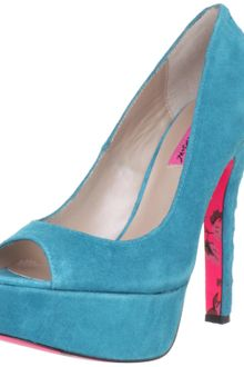 Betsey Johnson Betsey Johnson Womens Sita Opentoe Pump - Lyst