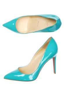 Christian Louboutin Pigalle 100mm Shoes - Lyst