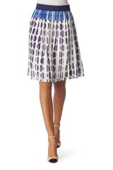 Diane Von Furstenberg Pleated Skirt