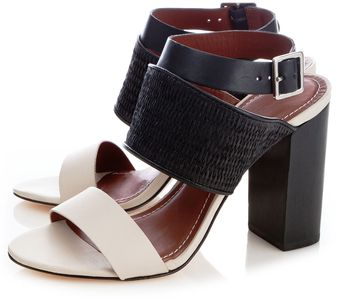 Elizabeth And James Eclair Colorblock Sandals - Lyst