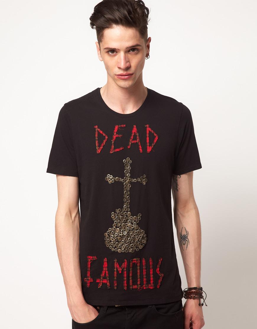 Elvis Jesus Elvis Jesus Praise Dead Famous Tshirt In Black
