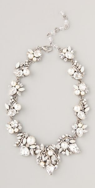 Erickson Beamon White Wedding Necklace - Lyst