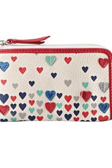 Fossil Ruby Zip Coin Purse - Lyst