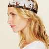 Free People Jeweled Mix Feather Headdress in Gray (grey) - Lyst