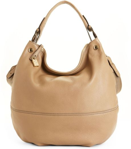 Furla Montmartre Large Hobo Bag in Beige (timo - tan) - Lyst