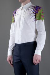 Givenchy Floral Print Shirt in White for Men (floral) - Lyst