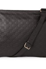 Gucci Joy Guccissima Leather Messenger Bag in Brown for Men - Lyst