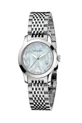 Gucci Womens Swiss Stainless Steel Bracelet 27mm - Lyst