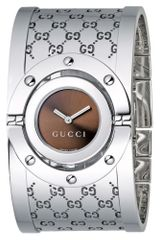 Gucci Womens Twirl Collection Stainless Steel Bangle Bracelet 23mm - Lyst