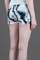 Isabel Marant Tie Dye Short in Blue - Lyst