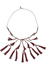 Isabel Marant Cy Amp You Tasseled Necklace - Lyst