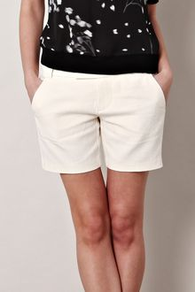 J Brand Lena Twill Tailored Shorts - Lyst