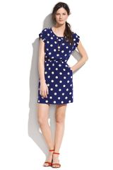Madewell Dotty Dress - Lyst