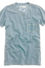 Madewell Indigo Ink Pocket Tee - Lyst