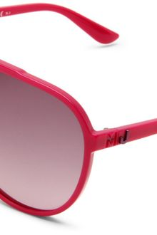 Marc By Marc Jacobs Mmj 288s Aviator Sunglasses - Lyst