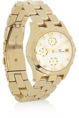 Marc By Marc Jacobs Henry Goldplated Watch - Lyst