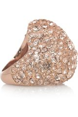 Marc By Marc Jacobs Heart Pavé Crystal Ring - Lyst