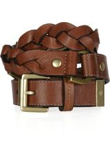 Mulberry Braided Leather Belt - Lyst