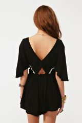Nasty Gal Let Love Down Romper in Black - Lyst