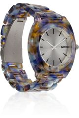 Nixon Time Teller Watercoloreffect Acetate Watch - Lyst