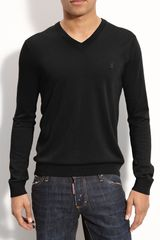 Pringle of Scotland Vneck Merino Wool Sweater - Lyst