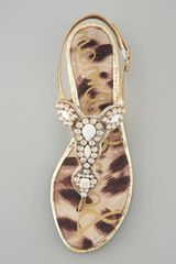 Sam Edelman Ross Beaded Sandal  - Lyst