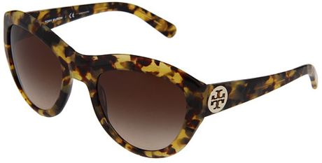 Tory Burch Sunglasses in Brown (s) - Lyst