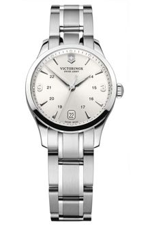 Victorinox Womens Alliance Stainless Steel Bracelet 30mm - Lyst