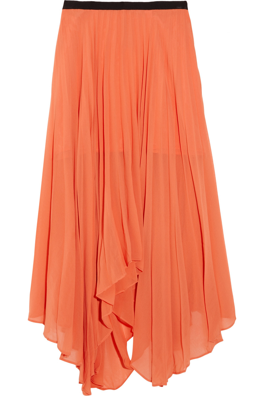 Long chiffon pleated skirt – Modern skirts blog for you