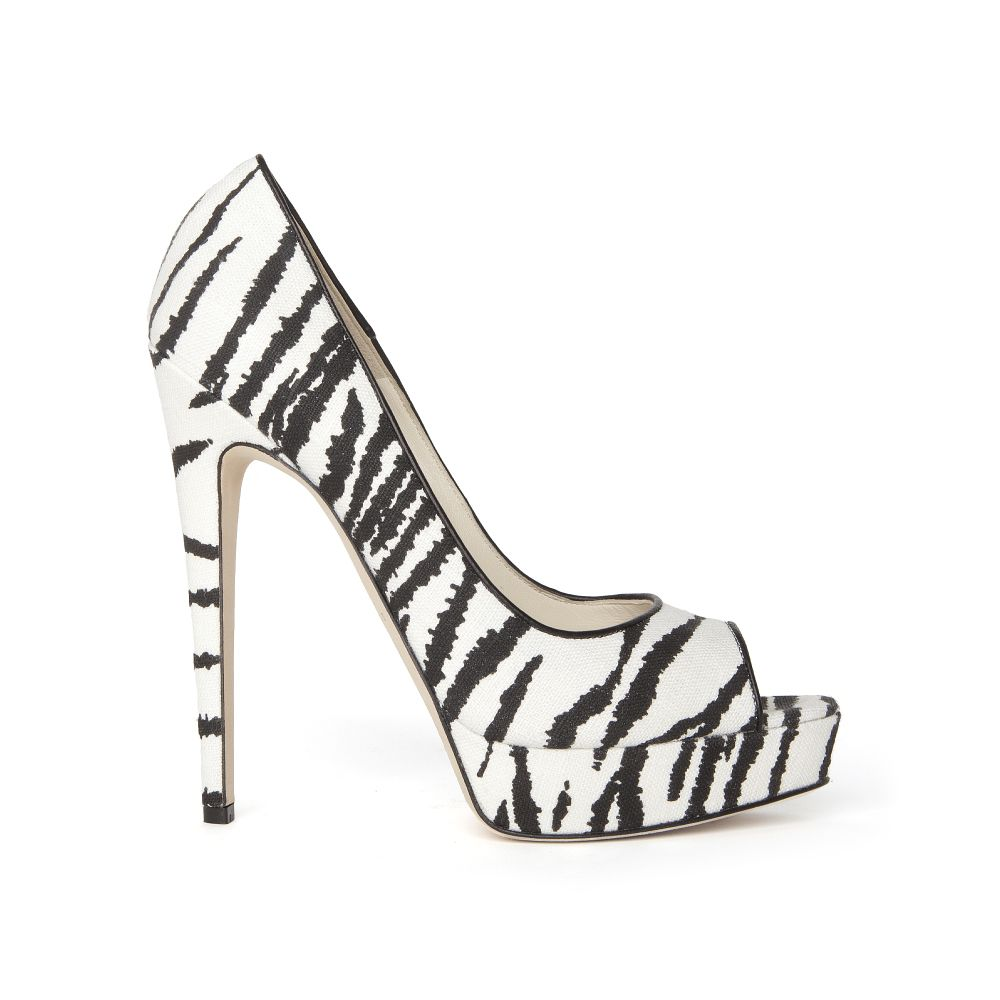 discount 2015 cost for sale Brian Atwood Printed Peep-Toe Pumps free shipping 2014 newest RXdGWbFeB