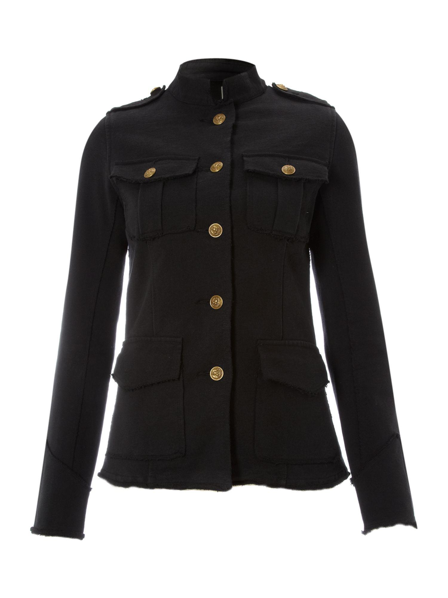 Denim Amp Supply Ralph Lauren Jersey Fleec Military Style