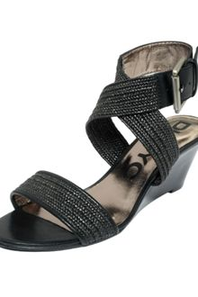 DKNY Erica Wedge Sandals - Lyst