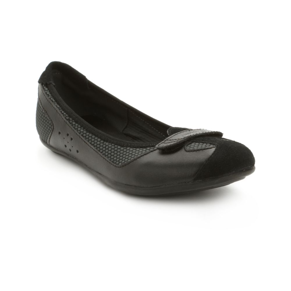 Lyst - PUMA Zandy Athletic Flats in Black 2bdc26c1a