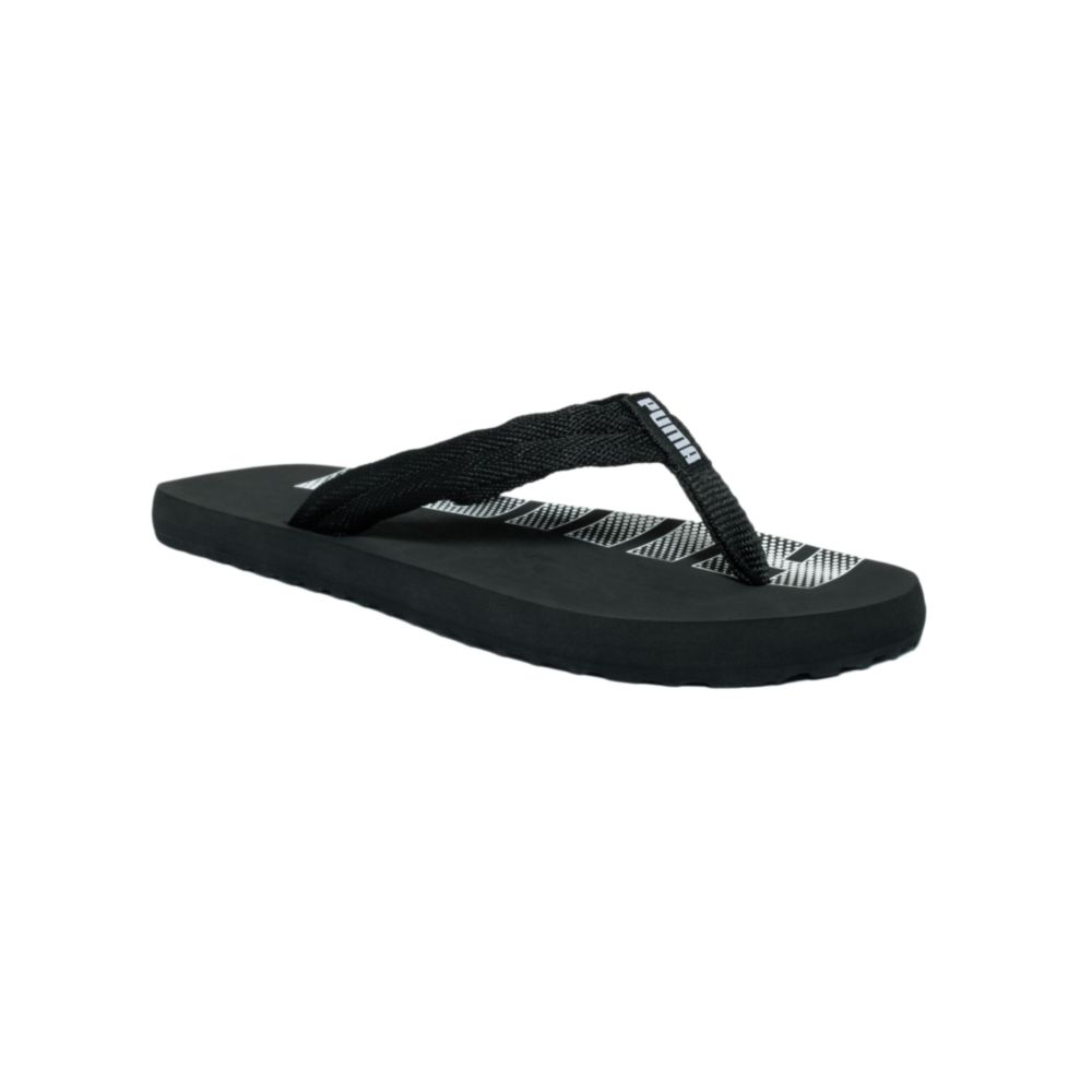 puma epic flip flop sandals in black for men black black lyst. Black Bedroom Furniture Sets. Home Design Ideas