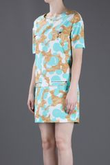 See By Chloé Print Dress in Blue - Lyst