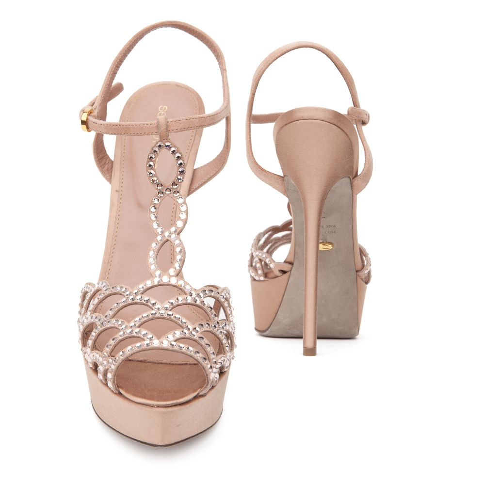 cheap sale marketable Sergio Rossi Embellished T-Strap Sandals w/ Tags outlet order online buy cheap release dates sale popular outlet store cheap price gQZsI82oD