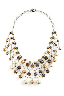 St. John Collection Bib Chain Necklace - Lyst