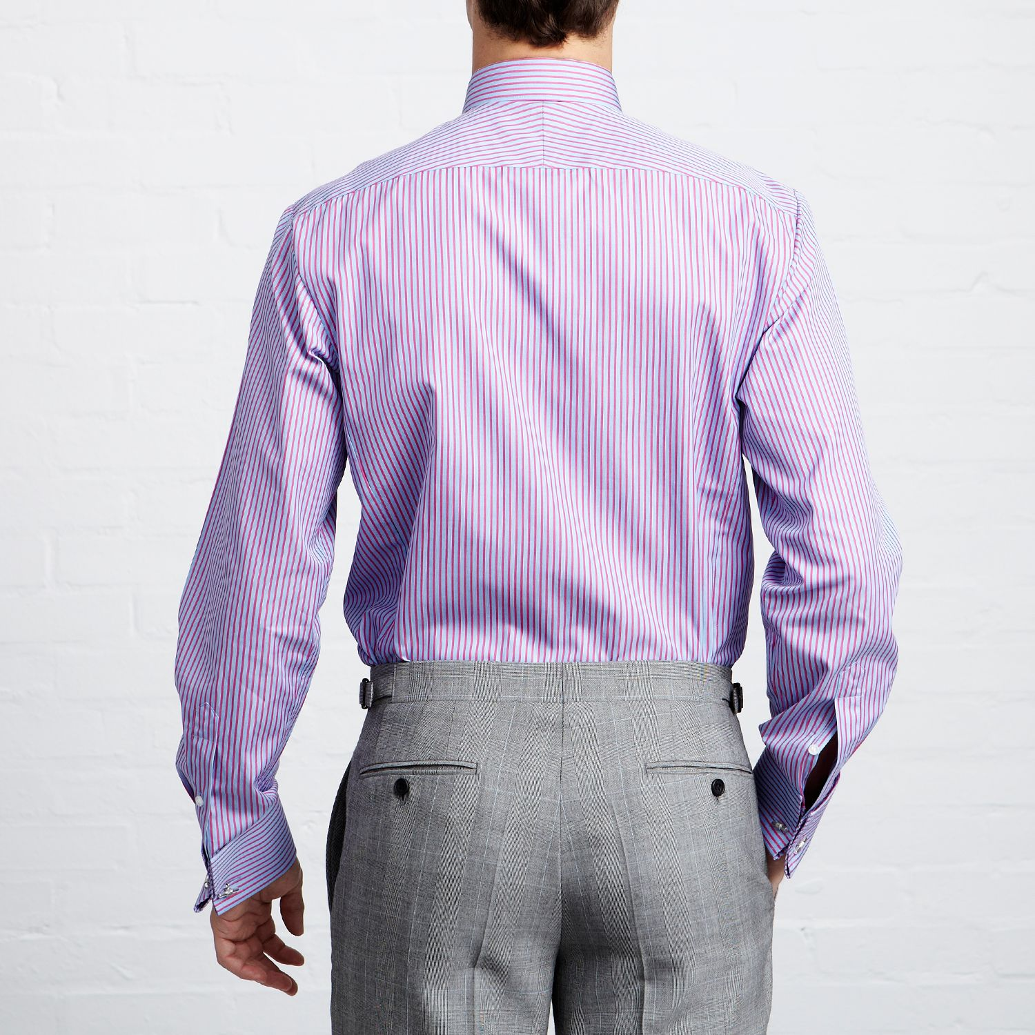 hugo boss slim shirts versus thomas pink