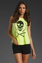 Wildfox Couture Dark Heart Cassidy Tank - Lyst