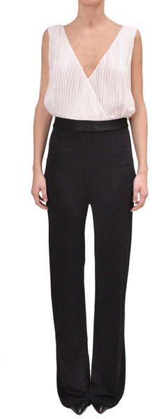 Amen Jersey Jumpsuit in Black - Lyst