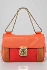 Chloé Elsie Shoulder Bag Medium in Brown (paprika) - Lyst
