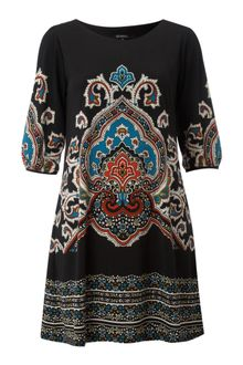 Izabel Izabel Oriental Print Dress - Lyst