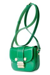 Jason Wu Mini Miss Wu Calfskin Crossbody Bag in Green - Lyst