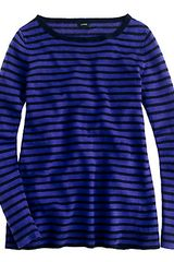 J.Crew Linen Swing Sweater in Stripe - Lyst
