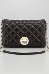 Kate Spade Meadow Quilted Shoulder Bag Large in Black - Lyst