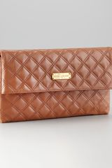 Marc Jacobs Eugenie Quilted Clutch - Lyst