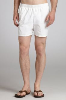 Vilebrequin White Mars Swim Trunks - Lyst