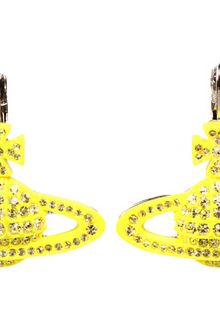 Vivienne Westwood Pop Bas Relief Drop Earrings - Lyst