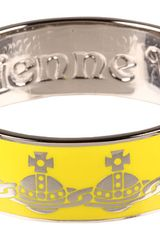Vivienne Westwood Orb Bangle in Yellow (y) - Lyst